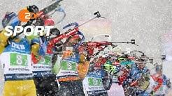 Biathlon-Weltcup in Ruhpolding: Deutsche Männer-Staffel verpasst Podest | SPORTextra - ZDFsport