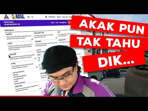 Cara Mengisi Borang E Filing Lhdn Bagi Syarikat Enterprise Cukai Taksiran Lhdn 2020 Youtube