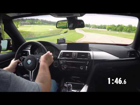 2014 Lightning Lap: BMW M4