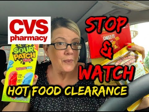 CVS STOP & WATCH VIDEO | MUST HOLD CRT'S | 🔥 FOOD CLEARANCE FINDS!