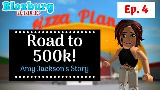 Road to 500k! (Amy's Story) A lesson in work ethic | Bloxburg | Roblox | Mamabear