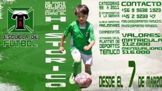 Escuela Oficial Club de Deportes Temuco 2015 promocional
