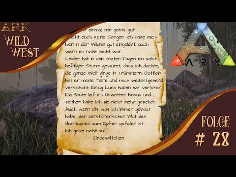 ARK Wild West # 28 # Hurrikane # ARK Primitive Plus # ARK Survival Evolved Deutsch
