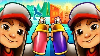 Subway Surfers BUENOS AIRES vs ICELAND - ipad Gameplay