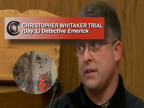"""DEFREEZE"" CHRISTOPHER WHITAKER TRIAL 🕵️‍♂️ - Detective Emerick (Day 1)"