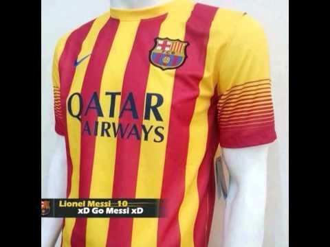 las camisetas del Barcelona 2013-2014