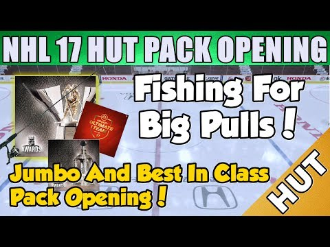 Fishing Pack Opening! - NHL 17 HUT - Hockey Ultimate Team -  Best In Class Pack Opening