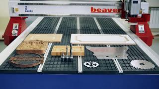 Фрезерный станок с ЧПУ Beaver 24 AVT5. Видео работы станка