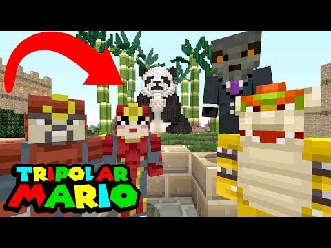 BOWSER'S SECRET WIFE IS BACK! *Awkward...* | Nintendo Fun House | Minecraft Switch [312]