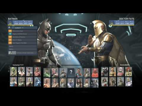The Best Dr Fate ever Injustice 2 Homelee vs OmgxBdon  EPIC FT10
