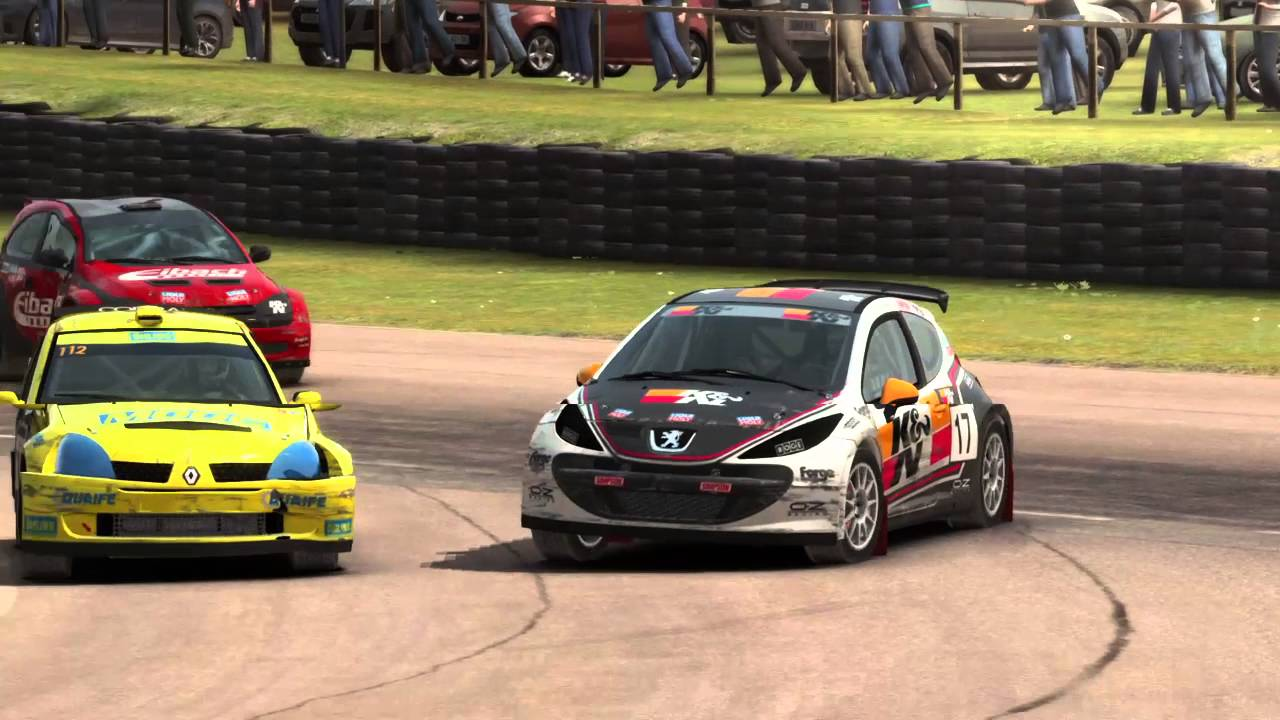 dirt rally ps4 rallycross england lydden hill junior. Black Bedroom Furniture Sets. Home Design Ideas