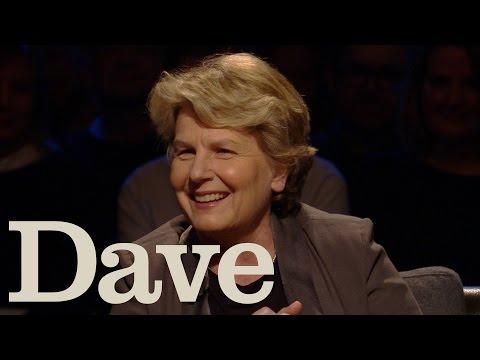 Sandi Toksvig's British Accent Is Fake  Alan Davies: As Yet Untitled  Dave