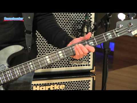 ESP LTD FB-4 Frank Bello Bass Demo - Sweetwater Sound