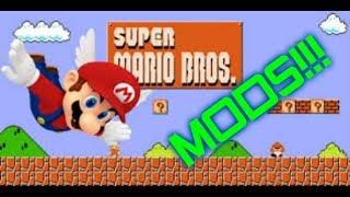Playing Super Mario Bros. with Mods!!! | TheCubeHeadPlayz