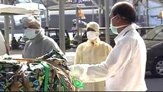 3 passengers taken for Ebola tests on arrival at Delhi airport