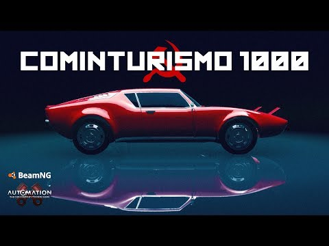 """83.7 HP SOVIET """"SUPERCAR""""    Automation / BeamNG"""