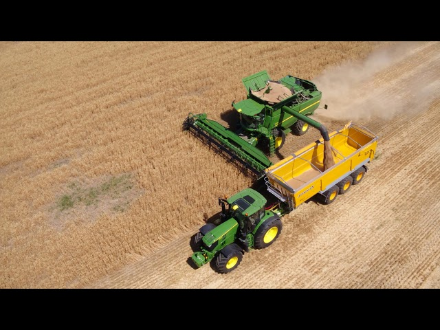 John Deere Serie S700 la cosechadora automatizada 1 – ICA2 Ajuste de cosechadora integrado