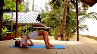 Видео женская йога