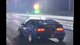 """Honda CRX """"El Comprao"""" 9.7 @ 151 mph"""