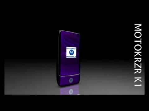 Motorola KRZR K1 - 3D-Animation - limaxdesign