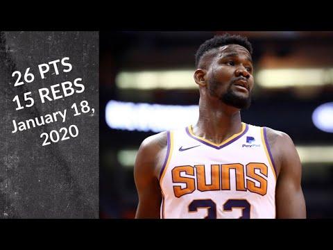 Deandre Ayton   26pts, 15reb, 2ast, 2blk, 10/11 FT, +18 - Suns vs Celtics   Full Highlights 1/18/2020