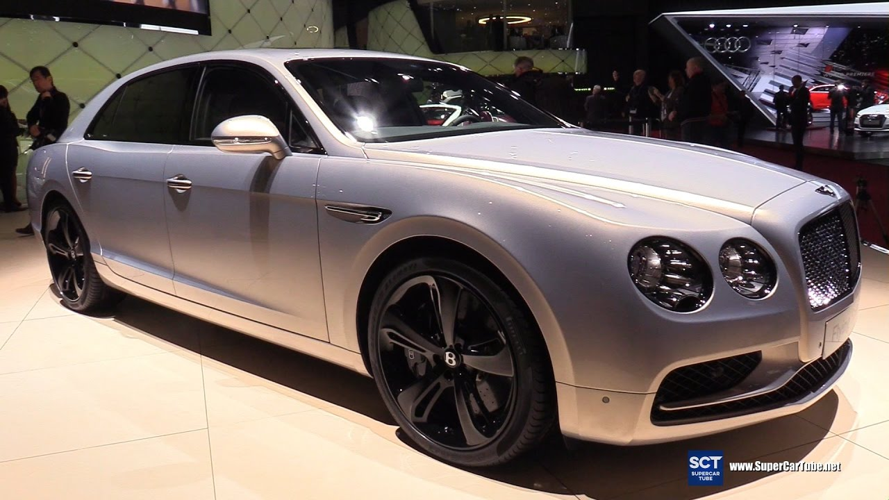 2017 Bentley Flying Spur W12 S Exterior Interior Walkaround Geneva Motor Show