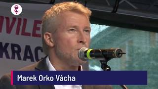Demonstrace 5. 6. 2018 - Marek Orko Vácha