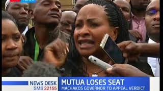 Mutua loses seat,the governor to appeal verdict News Desk full bulletin