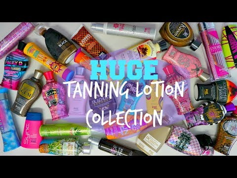 huge-tanning-lotion-collection!😮🏝