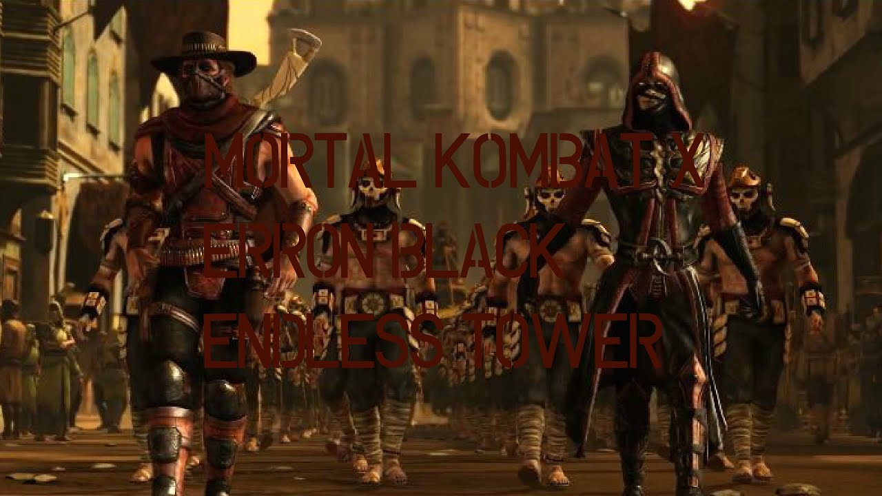 Mortal Kombat X Ps4 Erron Black Marksman Endless Tower Youtube