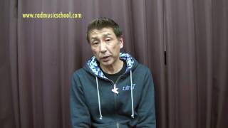 ★RAD講師紹介【ピアノ/ キーボード科】阿部雅宏 講師