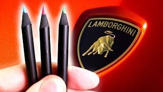 Je teste des crayons LAMBORGHINI ?!