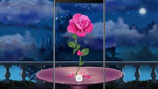 Petals Rose Falling Live Wallpaper OFFICIAL VIDEO screenshot 2