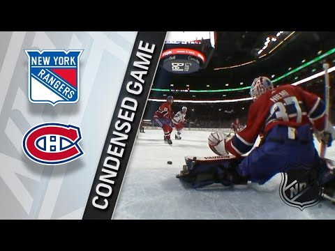 02/22/18 Condensed Game: Rangers @ Canadiens