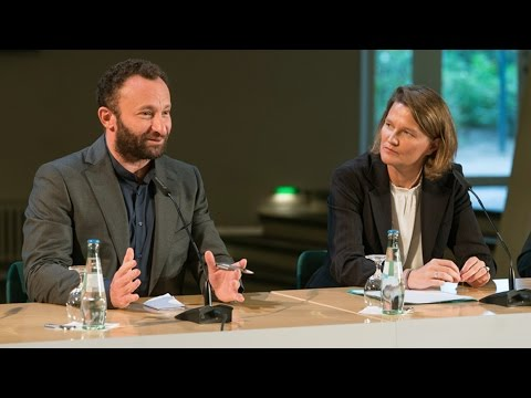 Press conference with Kirill Petrenko and Andrea Zietzschmann at the Berlin Philharmonie, 2016