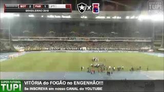 Botafogo 2 x 1 Paraná - 37ª Rodada - Brasileirão - 26/11/2018 - AO VIVO