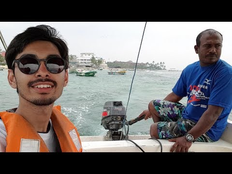 SRILANKA DAY 1 - Boat Ride Indian Ocean & Madu River | Hikkaduwa