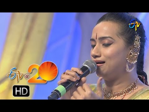 Kalpana Performance - Jolajolamma Jola Song in Karimnagar ETV @ 20 Celebrations