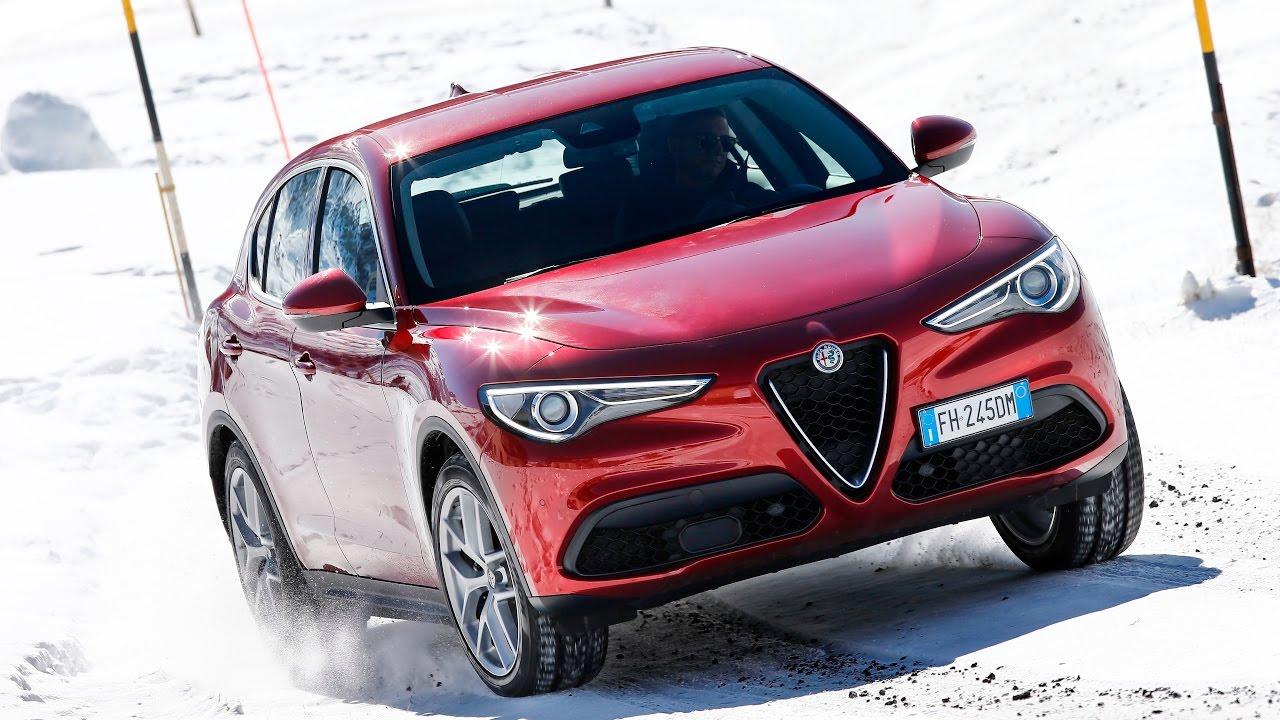 Alfa Romeo Stelvio: видео производителя