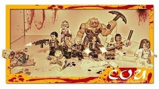 лЕГО ужасы  Зомби, Обитель Зла, Ходячие Мертвецы  LEGO horror  Zombie, Resident Evil, TWD