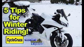 5 TIPS For WINTER Motorcycle Riding (For REAL Riders) | MotoVlog
