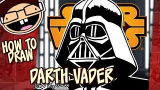 How to Draw DARTH VADER (Star Wars) | Narrated Step-by-Step Drawing Tutorial