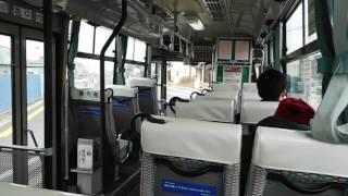 【車内動画】ミヤコーバス(石巻駅前→免許センター→日赤病院→石巻駅前)