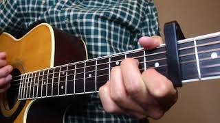 Scarecrow In The Garden - Chris Stapleton - Guitar Cover