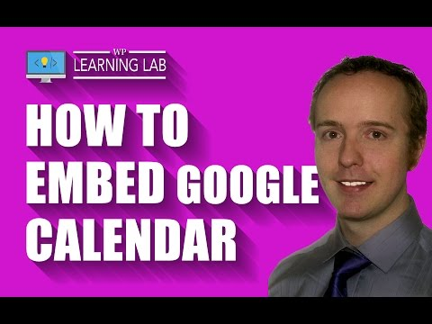 Embed Google Calendar On Your Site Quickly And Easily
