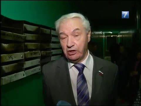 Комментарий В.В. Вавилова о решении проблем аварийного общежития на улице Конева