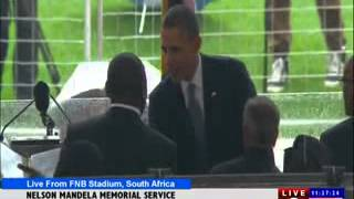 MUSIC BY KIRK FRANKLIN-NELSON MANDELA MEMORIAL SERVICE