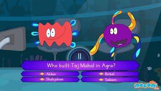 Mocomi TimePass Kya Cell Banega Crorepati? Episode 10 - Taj Mahal Kisne Banaya?