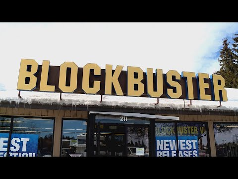 Kristina - Inside the Last Blockbuster Video Store in Bend, Oregon