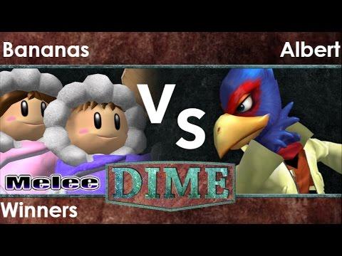 DIME 21 - Bananas (ICs) vs FX   Albert (Falco) Winners - Melee